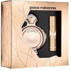 Paco Rabanne Olympéa, Zestaw podarunkowy, woda perfumowana 50ml + woda toaletowa 10ml (Travel set)