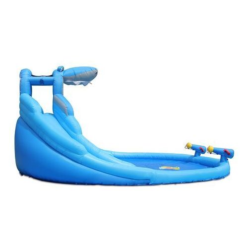 Zabawki dmuchane, Mega Wodna Zjeżdżalnia - Rekin - HappyHop
