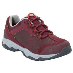 Buty podejściowe damskie ROCK HUNTER TEXAPORE LOW W burgundy / light grey - 6,5