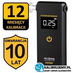 Alkomat AlcoFind Expert z platynowym sensorem + 10 LAT GWARANCJI
