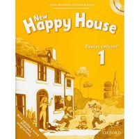 Biblioteka biznesu, New Happy House 1 Zeszyt ćwiczeń z płytą CD (opr. miękka)