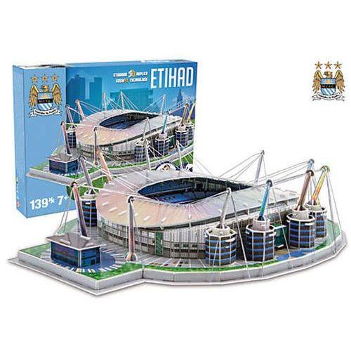Puzzle, 3D Puzzle Nanostad UK - Etihad fotbalový stadion Manchester City neuveden
