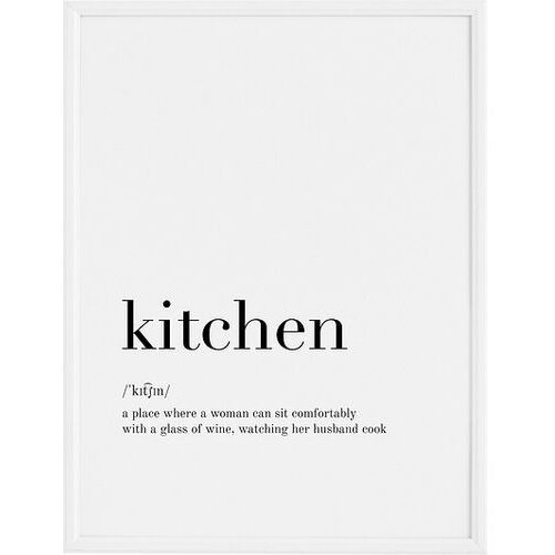 Plakaty, Plakat Kitchen 30 x 40 cm