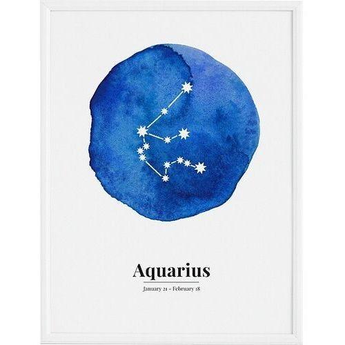 Plakaty, Plakat Aquarius 21 x 30 cm