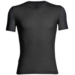 Icebreaker Anatomica Koszulka V-neck Mężczyźni, black/monsoon M 2019 Podkoszulki z krótkim rękawem Przy złożeniu zamówienia do godziny 16 ( od Pon. do Pt., wszystkie metody płatności z wyjątkiem przelewu bankowego), wysyłka odbędzie się tego samego dnia.