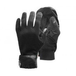 BLACK DIAMOND Rękawiczki WIND HOOD GRIDTECH GLOVES - rozmiar M - kolor czarny, 0793661427612