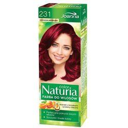 Joanna Naturia Color Farba do włosów Czerwona Porzeczka nr 231, 525231