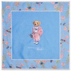 Chusta POLO RALPH LAUREN - Picnic Beardana 455842545001 Chambray Multi, kolor niebieski