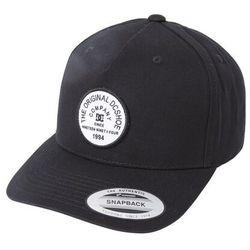 Czapka z daszkiem - badger 2 snap black (kvj0) marki Dc