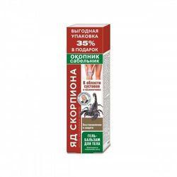 Jad Skorpiona - żywokost i pięciornik żel balsam Walentina Dikula 125 ml
