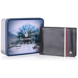 Peterson Czarny portfel męski skórzany barwy polskie 304.02 (3)