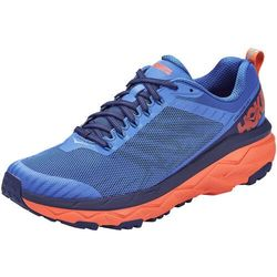 Hoka one one challenger atr 5 buty mężczyźni, niebieski/pomarańczowy us 13 | eu 48 2020 buty terenowe