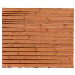 Płot ażurowy 180x150 cm drewniany goteborg wiśnia marki Werth-holz