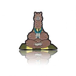 Przypinka - Alpaka i medytacja