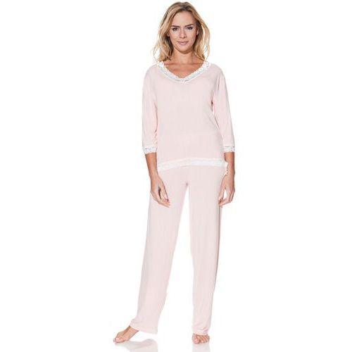 Damska bambusowa piżama ROZALIE Różowy XL