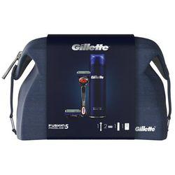 Gillette Zestaw prezentowy - Maszynka Fusion5 ProGlide + 1 głowica + Żel do golenia (7702018548910)