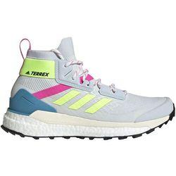 free hiker primeblue hiking shoes women, szary/kolorowy uk 8,5 | eu 42 2/3 2021 trapery turystyczne marki Adidas terrex