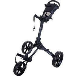 Manualny wózek golfowy FASTFOLD SQUARE (grafit-czarny)