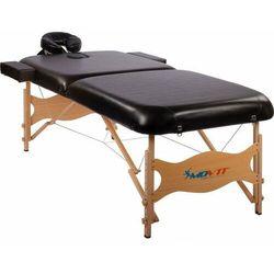 Movit ® Movit czarne łóżko do masażu + torba na stół - czarny (20050055)