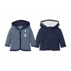 LUPILU® Bluza niemowlęca z biobawełny, 2 sztuki (4056233573190)