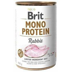 BRIT Mono Protein RABBIT 400g- Zamów do 16:00, wysyłka kurierem tego samego dnia! (8595602529797)