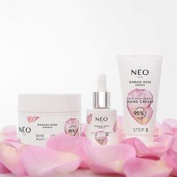 Rytuał pielęgnacji dłoni damask rose marki Neonail