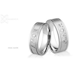 Obrączki ślubne - wzór Au-879