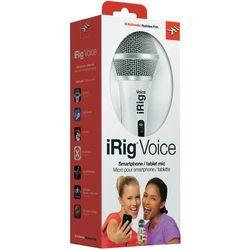 Mikrofon IK Multimedia iRig Voice, biały