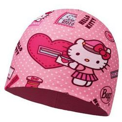 Czapka z Microfibry i Polaru Buff Junior Hello Kitty MAILING ROSE - MAILING ROSE \ Różu -30% (-30%)