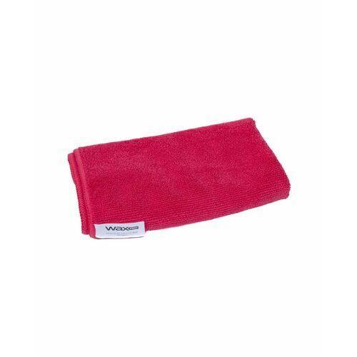 Ściereczki samochodowe, waxPRO Premium Microfiber Red 360gsm 40x40cm