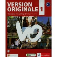 Książki do nauki języka, Version Originale 1 SB + CD KLETT (opr. miękka)