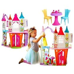 Barbie Pałac Domek Krainy Słodkości DREAM DYX32 Lalka Princess GRATIS!
