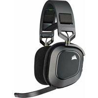 Pozostałe gry i konsole, Corsair słuchawki gamingowe HS80 RGB Wireless, czarne (CA-9011235-EU)