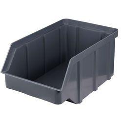 Plastikowy pojemnik warsztatowy - wym. 315 x 200 x 150 - kolor szary