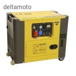Generator prądowy 230/400 V, 6 KVA, diesel wyciszony