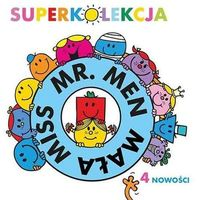Książki dla dzieci, Superkolekcja Mr. Men i Mała Miss (opr. kartonowa)