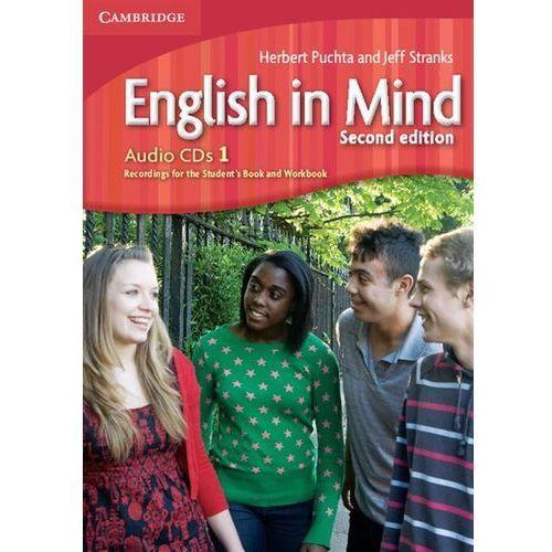 Książki do nauki języka, English In Mind 1 Second Edition Zestaw 3 Płyt Audio CD do Podręcznika (opr. kartonowa)