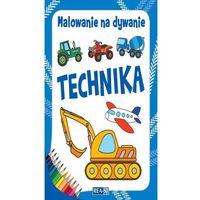 Książki dla dzieci, Malowanie na dywanie. Technika (opr. miękka)