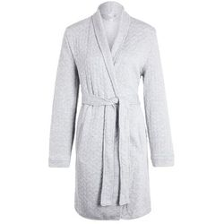 GAP QUILTED ROBE Szlafrok light heather grey