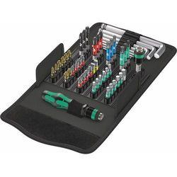 Bity Wera Kraftform Kompakt 100 05057460001, stal narzędziowa, 52 szt.