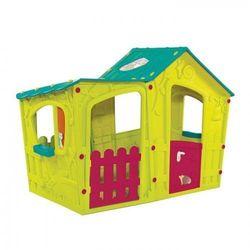 Domek dla dzieci Curver Keter Curver MAGIC VILLA jasnozielony - turkusowy