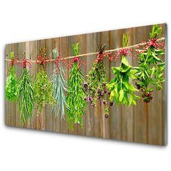 Panel Szklany Suszone Zioła Liście Natura