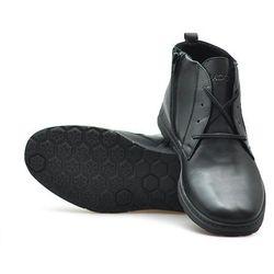Trzewiki Badura 4558-F Czarne lico