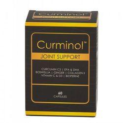 Curminol - Kurkumina, Imbir, Omega 3, Boswellia, Kolagen II, C i D - 60 kaps.