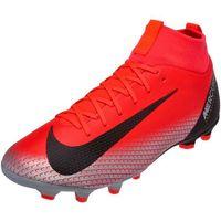 Piłka nożna, Buty piłkarskie Nike JR Mercurial Superfly 6 Academy GS CR7 MG Junior AJ3111 600
