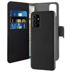 PURO Wallet Detachable Etui 2w1 na Samsung Galaxy A32 5G (czarny)