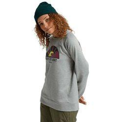 bluza BURTON - W Oak Crew Gray Heather (020) rozmiar: L