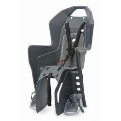 Fotelik rowerowy na bagażnik Polisport Koolah RMS - szaro/szary