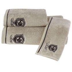 Zestaw podarunkowy małych ręczników LUXURY,, 3 szt Beżowy