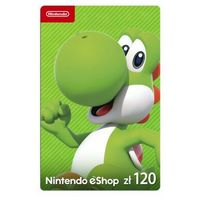 Klucze i karty pre-paid, Kod podarunkowy Nintendo 120zł